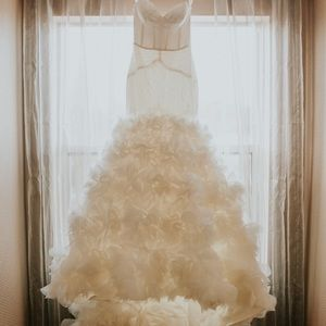 Custom Winnie Couture Wedding Dress